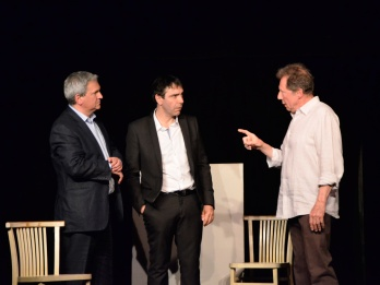 2011 Art de Yasmina Reza Mise en scène et interprétation Philippe Catoire Serge Krakowski Pierre Margot